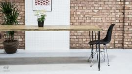 Industrial Hairpin Leg Table