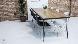 Large Hairpin Leg Dining Table