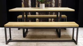 Oak Dining Table Benches