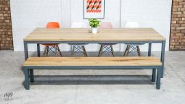 Quad Table & Benches