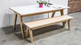 Synk Dining Table & Bench