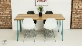 Table Coloured Hairpin Legs