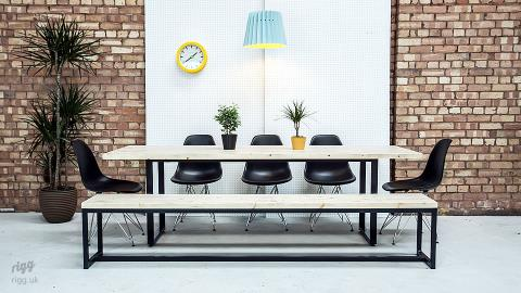 Loop Dining Table & Benches