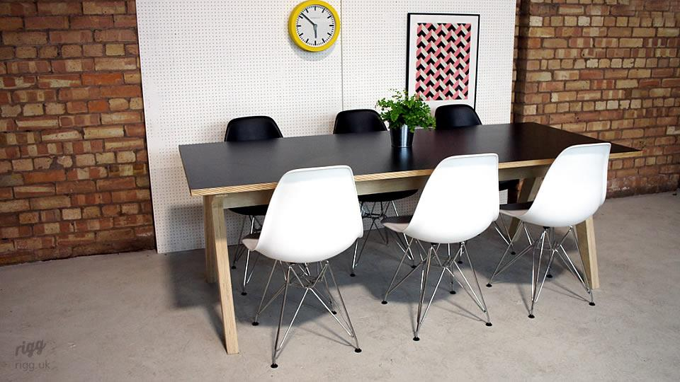 Synk Birch Plywood Dining Table