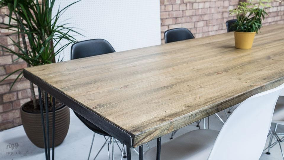 Hairpin Leg Dining Room Table
