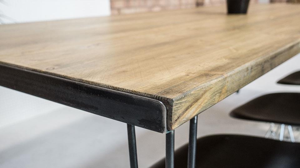 100  Stylish Hairpin Leg Dining Table Hairpin Leg Dining Tab