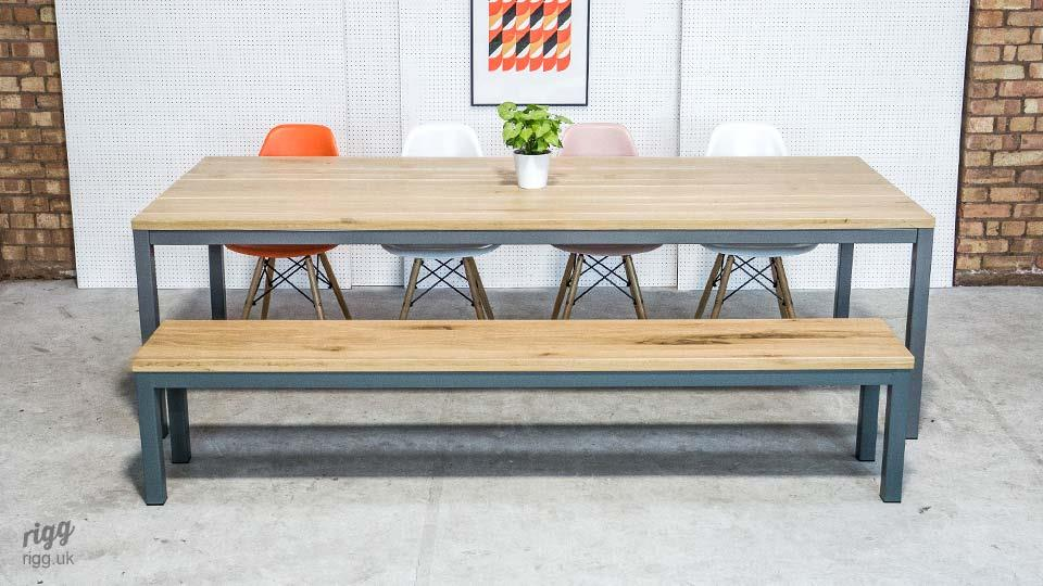 Quad Dining Table & Bench