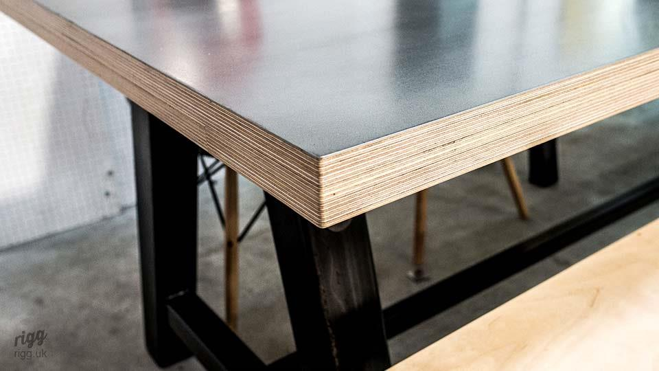Thick Plywood Table Top