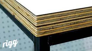 Hardwood Plywood Table Edge